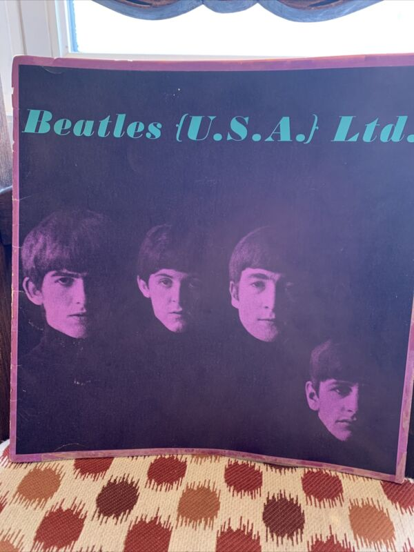 Vintage Beatles USA 1964 Promo Tour Book