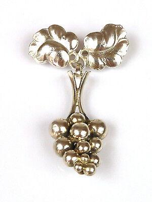 """Design-Brosche - """"Moonlight Grape"""" - GEORG JENSEN - #217A - 925 Sterling Silber"""