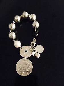 FIORINA Double coin bracelet Dianella Stirling Area Preview