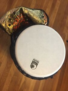 Djembe Drum and Case