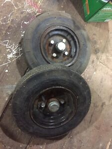 Set of Trailer Tires