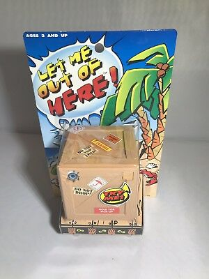 Let Me Out Of Here Vibrating Talking Crate Box Sky Kids 1997 (see description)](Kids Crate)