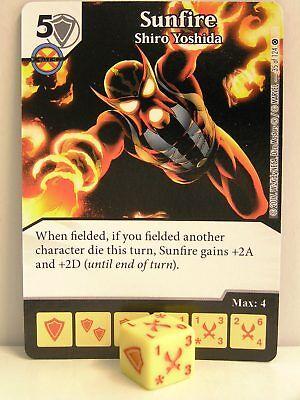 Dice Masters - 2x #035 Sunfire Shiro Yoshida - X-Men First Class