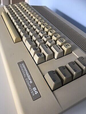 Commodore 64 Vintage Computer - Tested and Working