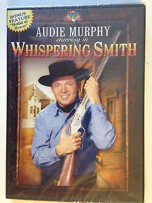 NEW/SEALED - WHISPERING SMITH (DVD, 2010) Audie Murphy (8 Episodes + bonus feat)