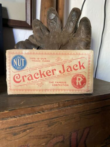 Cracker Jack Vintage Box 1909