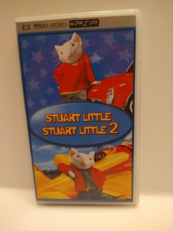 Stuart Little & Stuart Little 2 UMD Video 2-Disc Set Sony PSP