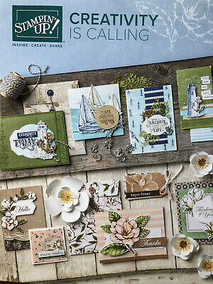 Stampin' Up! Catalog 2019-2020 *PAPER CRAFTING* Rubber Stamping Ideas* FREE SHIP - Craft Idea