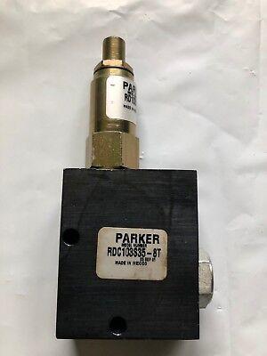 Parker Rdc103s35-8t Relief Valve