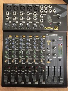 M-Audio NRV10 8 Channel Mixing Desk w/ FX  (& Digital Interface) Pearsall Wanneroo Area Preview