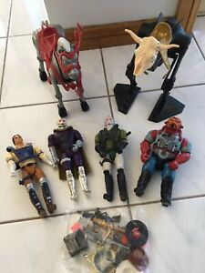 Marshall Bravestarr figures and accessories