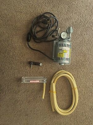 Used, GAST Rotary Vane Air Compressor & Vacuum Pump LOT for sale  Shipping to Canada