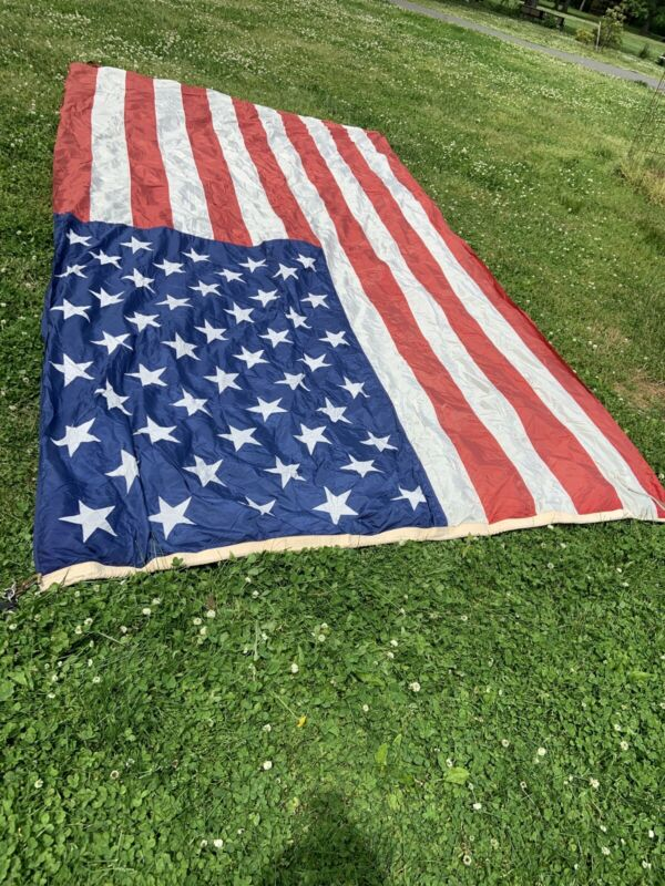 Vintage 16' X 7' American Flag
