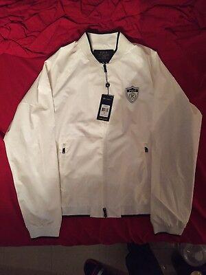 Polo Ralph Lauren P-Wing Performance Jacket color White Regatta M NEW