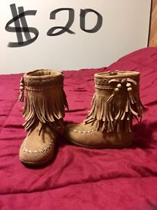 Rampage Girls Brand faux leather boots