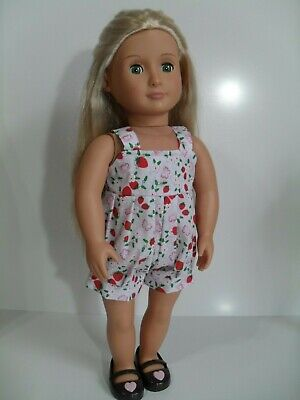 """18"""" Dolls clothes  made to fit Our Generation or Design a friend doll"""