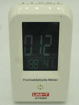 Uni-t Ut338a Indoor Formaldehyde Data Logger Detector Thermometer Air Monitor