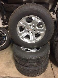 2017 Chevy Silverado 18 inch wheels/ tires