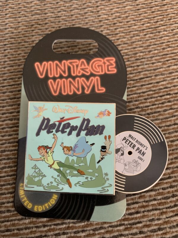 Disneyland & Walt Disney World - Vintage Vinyl Series - Peter Pan Pin