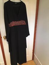 Black womens abaya