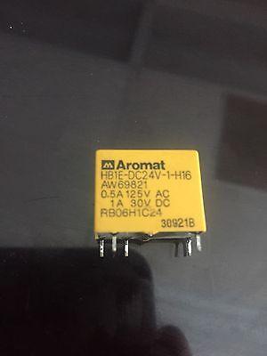 Hb1e-dc24v-1-h16 Aromat Relay Single Pole 24 Volt