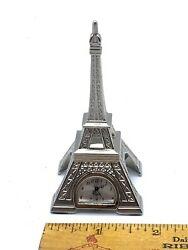 Small Eiffel Tower Desk Clock
