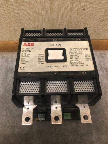 ABB EH 450 Contactor   1000V 3 Pole