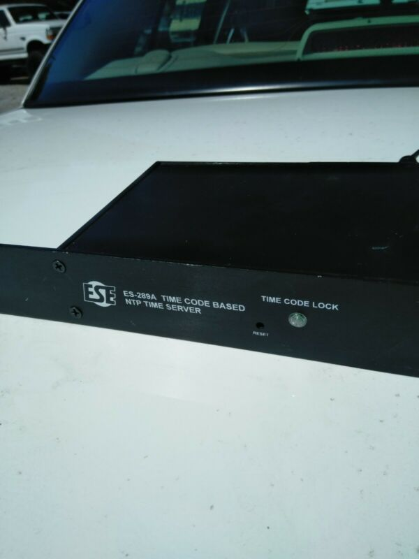 ESE ES-289A Time Code Based NTP Time Server