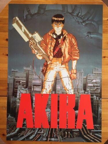 AKIRA, RARE AUTHENTIC  1989  POSTER