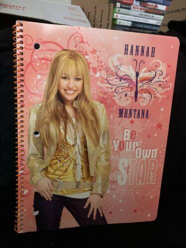 hannah montana vintage notebook brand new rare unused disney