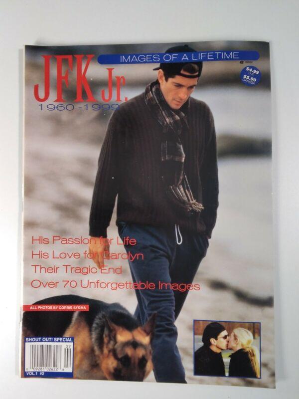 JFK Jr. Magazine Vtg 1999 Kennedy Images of a Lifetime Collector Photos Rare