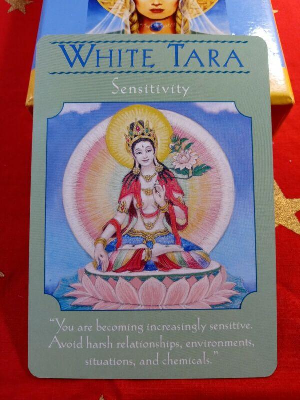 White Tara - Single Card Replacement - Authentic Goddess Guidance Doreen Virtue