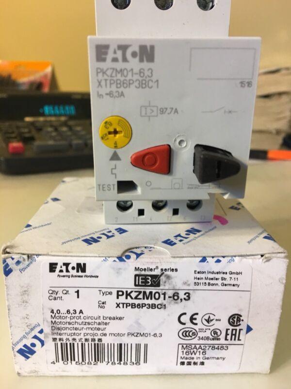 XTPB6P3BC1. MOELLER. PKZM01-6.3    EATON  MANUAL MOTOR  STARTER
