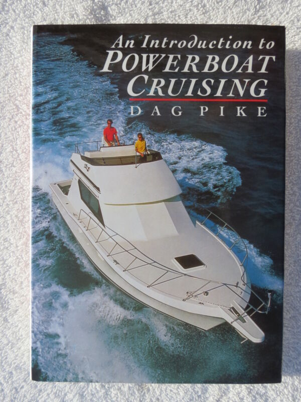 POWER BOAT CRUISING BOOK MARITIME NAUTICAL MARINE SAIL BOAT (#127)