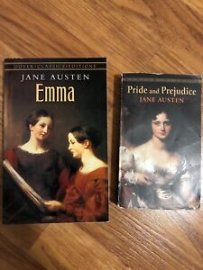 Emma and Pride and Prejudice by Jane Austen