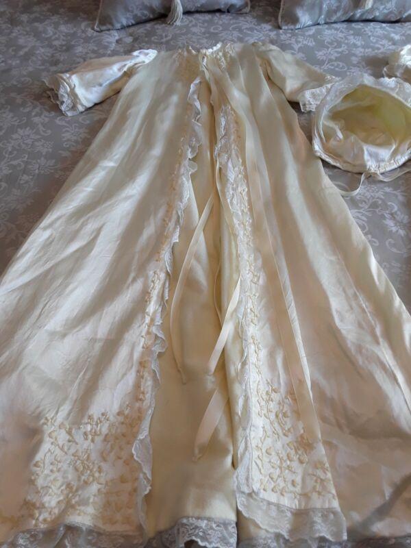 Exquisite 3 Pcs Christening Gown