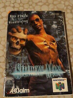 Notice du jeu Nintendo N64 FR shadow man