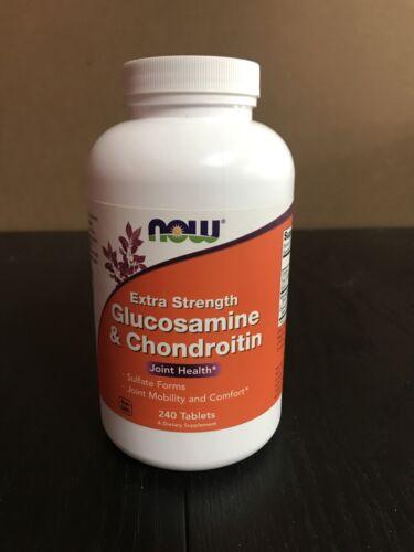 Glucosamine & Chondroitin Sulfate - 240 Tabs