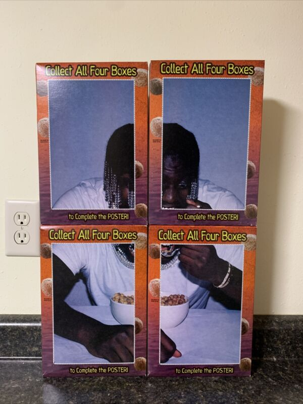 LIL YACHTY REESES PUFF CEREAL FULL POSTER SET- COLLABORATION (Limited edition)