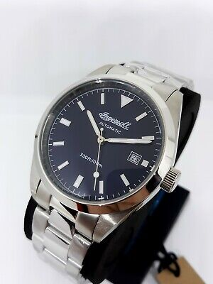 Ingersoll Reliance 40mm. Blue Dial. Miyota automatic. Wood display box. NEW!!