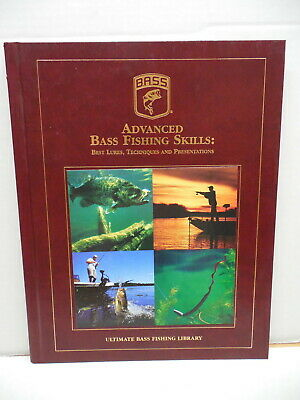 Ultimate Bass Fishing Library Book Advanced Fishing Skills Best Lures
