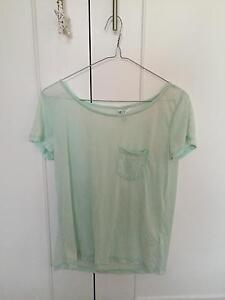 Sheer Blue Top (Size XS) Killarney Heights Warringah Area Preview