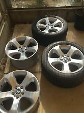 BMW X5 E53 tyres and rims Hampton Park Casey Area Preview