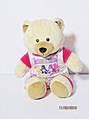 Build a Bear Sitting Plush Asthma Allergy Friendly Heartbeat Care Bear Outfit ()