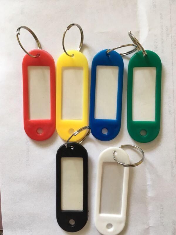 6 Key Ring Key Tags Labels Write On Schlüsselmakierer