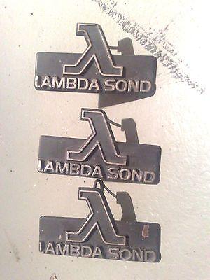 """Emblem Kühlergrill """"LAMBDA SOND""""  1392609  VOLVO  200  700  900 gebraucht kaufen  Berlin"""