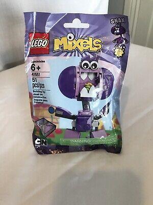 LEGO 41551 Mixels Series 6 Snax, Cartoon Network, 2015, New, Sealed