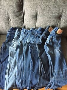7 pairs of Jeans (Size 12)