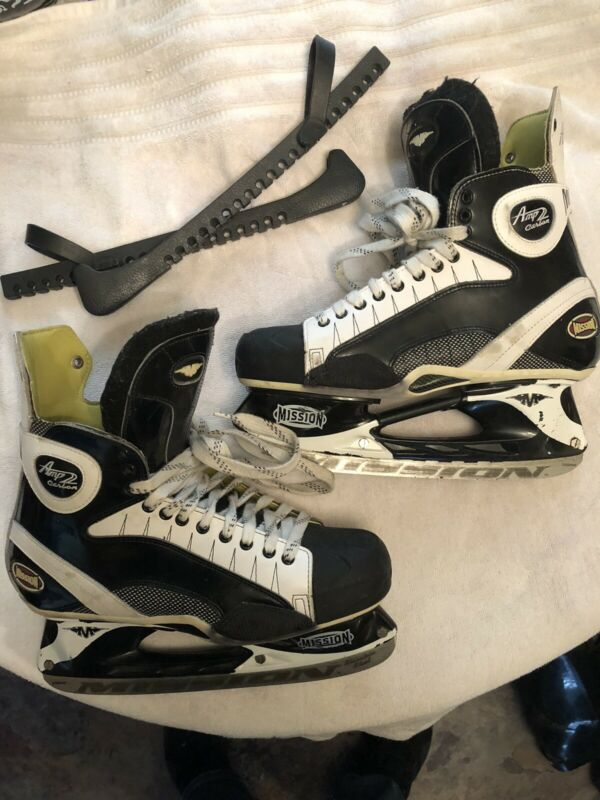 Mission Amp 2 Hockey Skates  Size 12