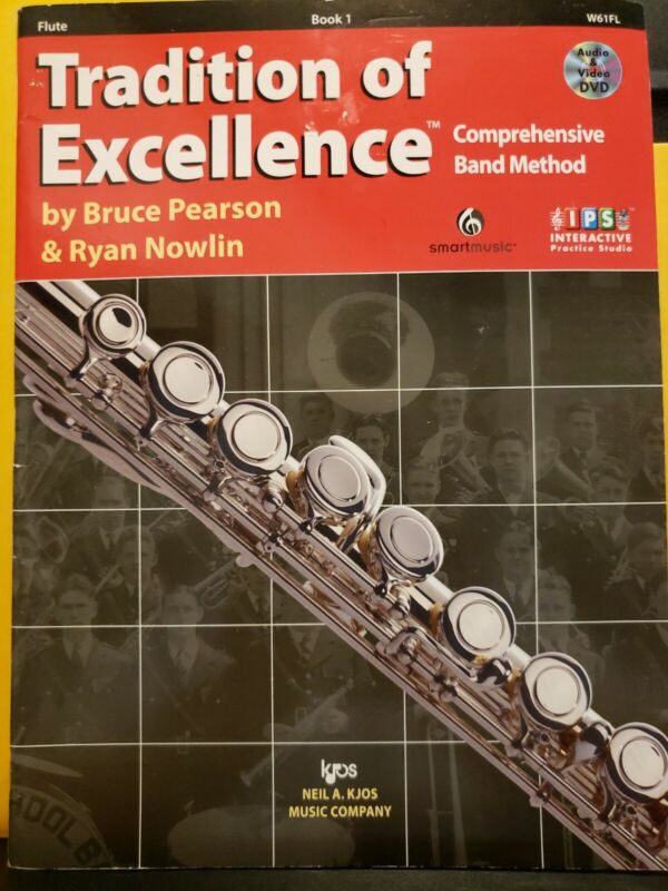 TRADITION OF EXCELLENCE - BOOK 1 Flute Comprehensive Band Method with DVD